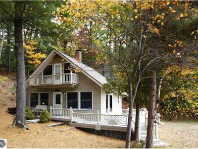 Family Cottage on 150' of private Spider Lake frontage.