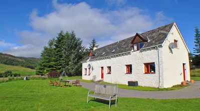Photo for Beautiful Loch Ness views from Spacious, Secluded Farmhouse nr Inverness