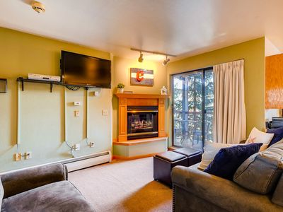 Photo for Enjoy peace and serenity from the private balcony w/ views of blue river