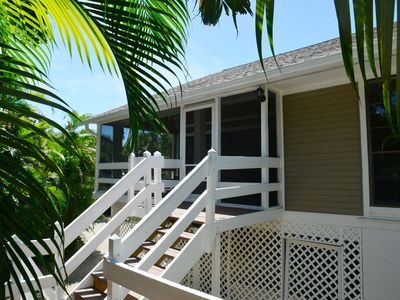 """Photo for """"Sanibel Oasis"""", Private Canal Front Home"""