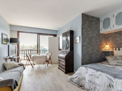 Photo for Lovely apartment for 2 guests with WIFI, TV and balcony