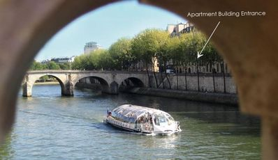 Photo for Ile Saint Louis : Best Paris Location, a Fabulous Place