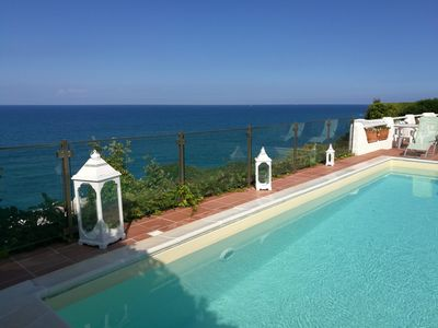 Photo for Villa Anna with heated pool and panoramic terrace.