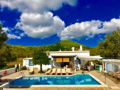Photo for CHEERFUL Country house with pool 5 double bedrooms, 3 bathrooms in Ibiza