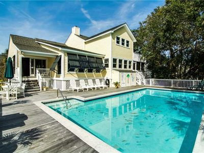 Photo for Private Pool | Wifi | Close Beach Access | 6BR Home Isle Of Palms
