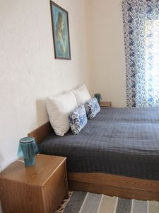 Photo for Blue Ivana room with private bathroom, close to the beach, WiFi, AC, parking