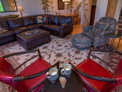Photo for 3-story ski-in/ski-out townhouse w/ outdoor hot tub, access to Big Sky Resort!