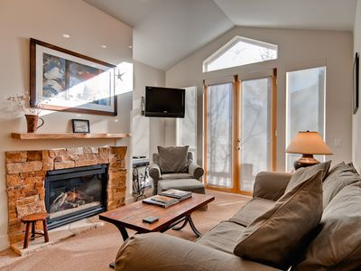 Photo for Three Bedroom Condo with Onsite Exercise Room Hot Tub and Close to Bald Mt Ski Lifts