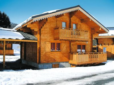 Photo for 3 bedroom Apartment, sleeps 8 in Morillon with Pool and WiFi