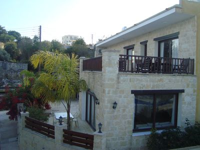 Photo for Family - friendly Luxury Stone-built Villa  With Private Pool In Stroumbi