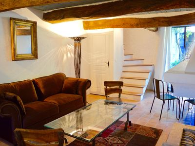 Photo for BEAUTIFUL STUDIO IN THE VILLAGE OF SAIGNON