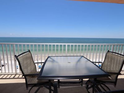 Photo for Beachfront Penthouse, Spectacular Views, W/D, Wi-Fi, Cable, Pool, Hot Tub- Sandcastle Penthouse #3