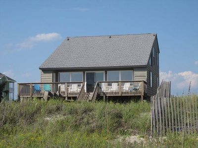 Photo for Balmy Days: 4 Bed/2.5 Bath Modest Oceanfront Home with Wide Beachfront Deck