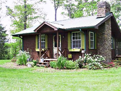 Photo for CHESTATE RIVER Adorable OLD BEAR LODGE/Cottage