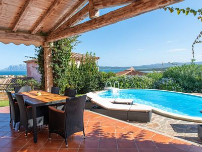 Photo for Villa with Private Pool and Beautiful Sea View - Villa Nicola