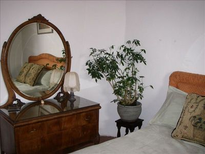 """The antique """"petticoat"""" dresser, in Santa Fe since the early 1900s."""