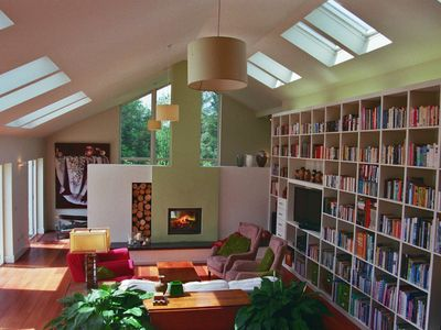 Open plan living - all warmth and light