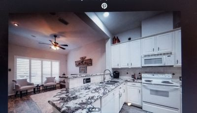 Photo for Single story  with 2 car garage and backyard  in The Woodlands!