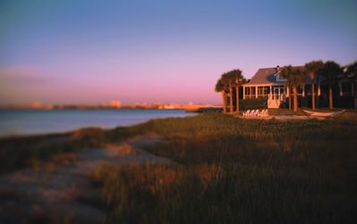 Spectacular panaromic views of Charleston Harbor