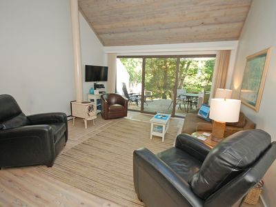 Photo for Peaceful, Updated Condo on the Crystal River in Glen Arbor; 2BR/2BA Acc: 7
