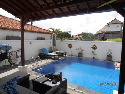 Photo for Keinginan Ayah (Fathers Wish) rural modern villa with large swimming pool