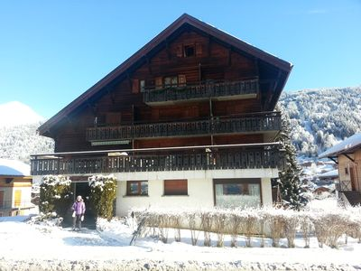 Photo for Perfectly Located Apartment in Morzine, Ideal for the Ski Lifts and Great Views
