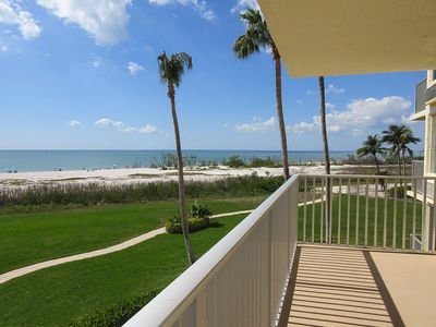 Photo for Direct Gulf Front Estero Beach & Tennis Club Condo Perfect Sun & Fun Getaway For Two!