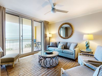 Photo for Pretty 4th Floor Condo! Gulf Front, Nearby Shopping & Dining!