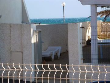 Nice apartment with terrace, quiet, 55 m2 for 4 to 6 people on the ground floor