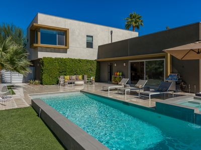 Photo for Chic & Modern Poolside Paradise...walk to downtown, casino, & convention center