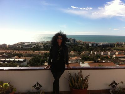 Photo for HOUSE WITH AMAZING VIEWS , OVERLOOKING THE FESTIVAL TOWN OF SITGES