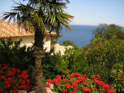 Photo for Villa Corsica luxury seaside. In small charming residence