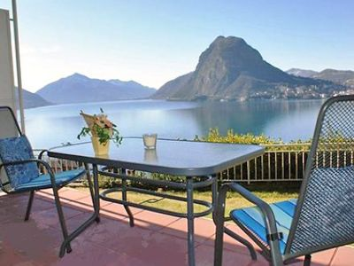 Photo for Apartment 746 m from the center of Lugano with Lift, Internet, Washing machine, Garden (52331)