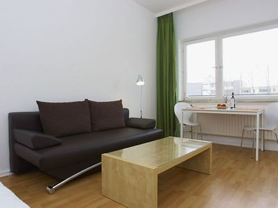Photo for Wilhelm Weiss I apartment in Kreuzberg with WiFi, balcony & lift.
