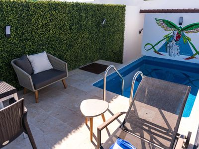 Photo for Modern penthouse with ocean view and private pool located in the best area of Playa del Carmen