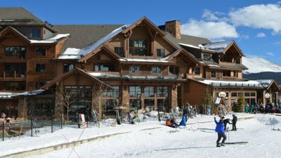 Mountian side suite residence at the Grand Lodge on Peak 7