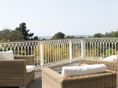 Photo for Large charming villa in Pyla with panoramic views / Bassin Arcachon + Pool