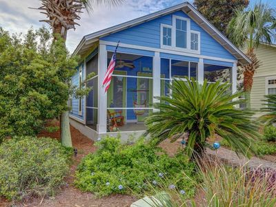 Photo for Luxuriously Spacious Cottage - very short walk to Seagrove Beach near Seaside