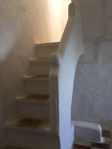 Photo for Room in tower of 1600 sea view in a village of trulli