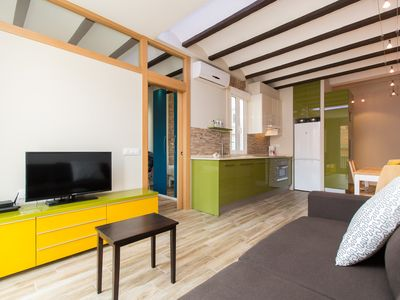 Photo for 1 bedroom apartment in Gracia