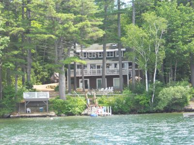 Photo for JOH14W - Pet Friendly Waterfront on Lake Winni