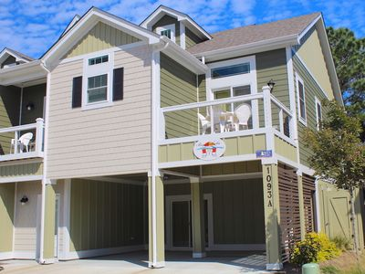 Photo for Beachaholic at Beacon Villas 4 Bedroom Townhouse, Includes Trolley Service to Beach Access