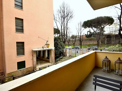 Photo for Appartamento Bassiano: An elegant and welcoming apartment situated in a central location, a few steps from the main tourist attractions of Rome, with Free WI-FI.