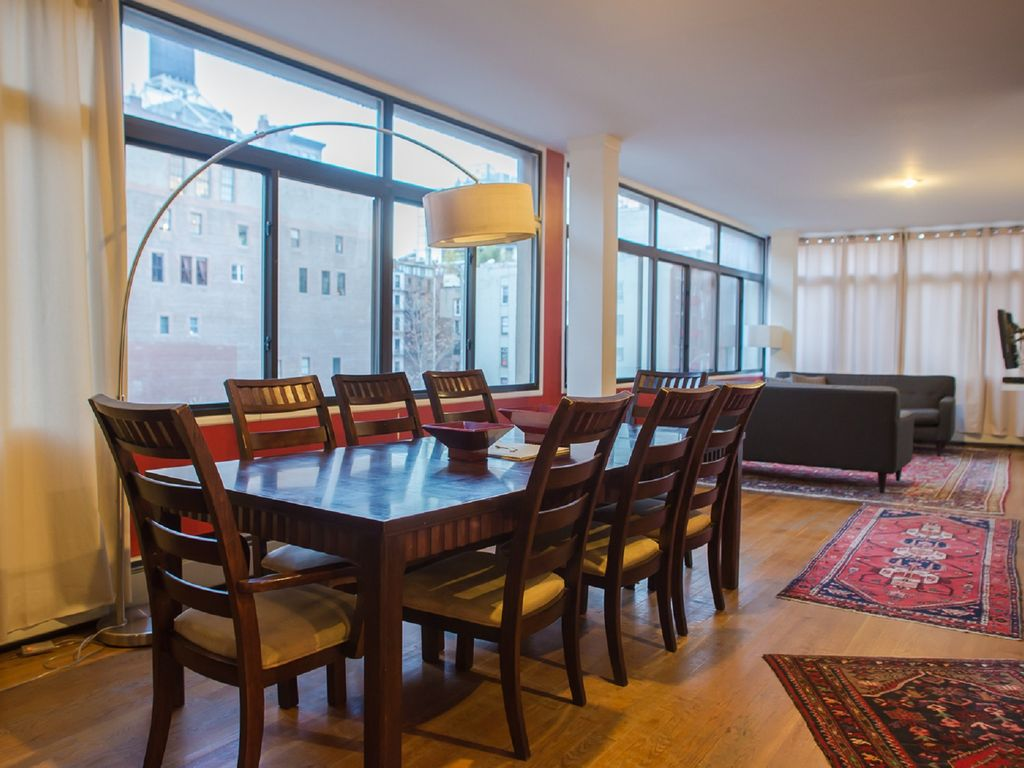Location Loft New York Manhattan Stunning A Duplex Corner  # Meuble Tv Nolita