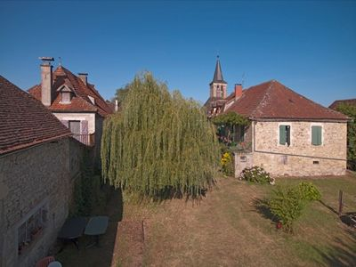 Photo for Charming farm house in a quiet village, 400m from a small lake with kids games.