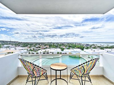 Photo for La Paz Condo w/City, Bay & Pool Views from Balcony