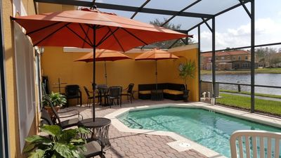 Photo for Find Paradise at Our 4BR, 3BA Townhome w/ Screened-In Patio & Pool (4700)