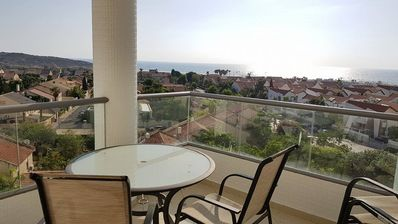 Photo for Paranomic Sea and City View, High Floor