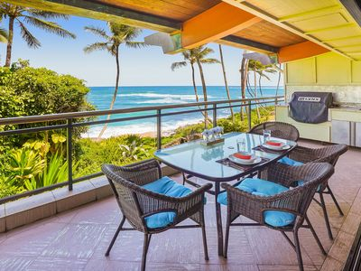 Photo for Luxury 2-story Oceanfront condo w/large lanai, views, &  pool. Lots of updates!
