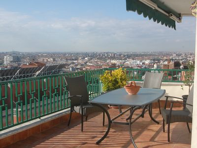 Photo for SPECTACULAR PENTHOUSE 95m² 4-6 PERSONS IN LATIN 35m² terrace
